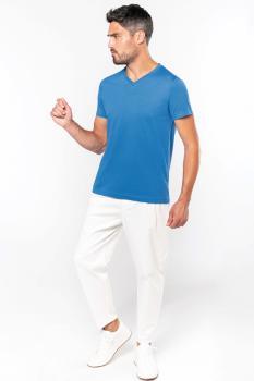 Pánské tričko kr.rukáv V-neck - zvětšit obrázek