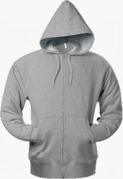 Pánská mikina s kapucí a zipem - Výprodej