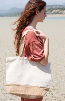 Rustikální nákupní taška