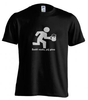 Pánské tričko - Šetři vodu, pij pivo
