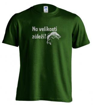 Pánské rybářské tričko s potiskem