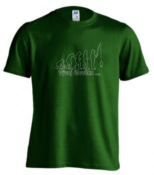Pánské tričko - Vývoj člověka...