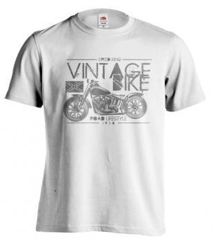 Pánské tričko - SPEED KING - VINTAGE BIKE