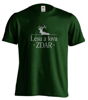 Pánské tričko - Lesu a lovu ZDAR