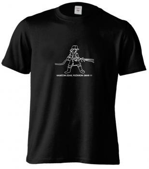 Pánské tričko - HASIČŮM ZDAR, POŽÁRŮM ZMAR!!!