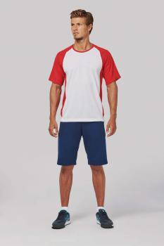 Pánské dvoubarevné sportovní tričko