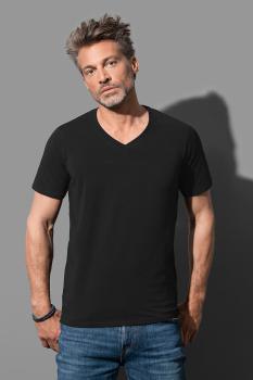 Pánské strečové tričko Dean V-neck - zvětšit obrázek