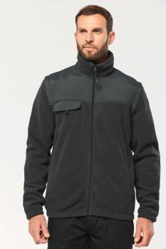 Fleecová bunda s odepínacími rukávy